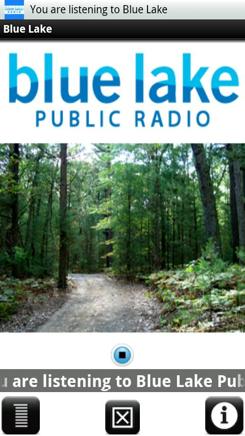 Blue Lake Public Radio - screenshot