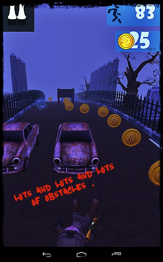 Graveyard Bustout- screenshot