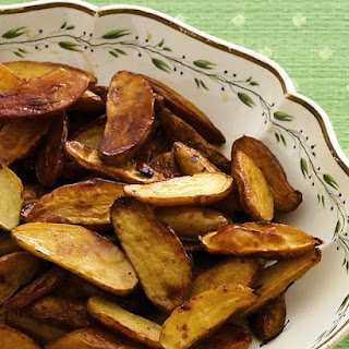 Rich Roasted Potatoes.