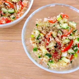 Quinoa Salad With Cumin-lemon Dressing.