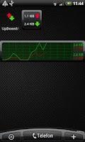 Screenshot of UpDownMeter Pro