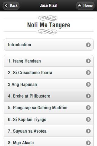 【免費書籍App】Jose Rizal-APP點子