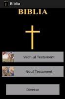 Screenshot of Biblia ortodoxa