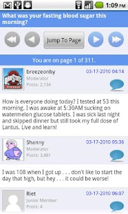 Diabetes Forum For Diabetics - screenshot thumbnail