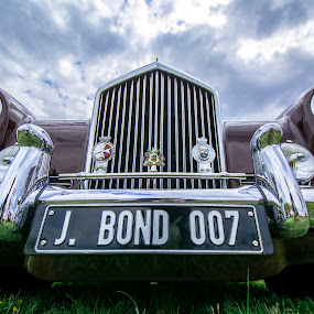 J Bond by Andrew Hale - Transportation Automobiles ( #classic, #automobile, #pointtopoint, #bond )