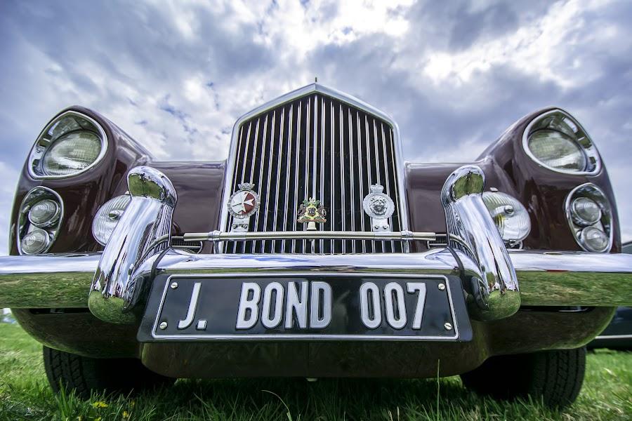 J Bond by Andrew Hale - Transportation Automobiles ( #classic, #automobile, #pointtopoint, #bond )