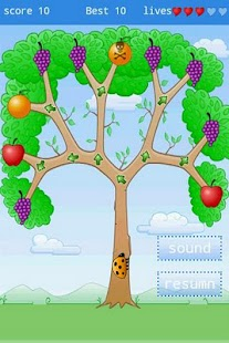 bugs eat fruits - screenshot thumbnail