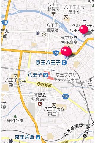 近場のホテル検索アプリ