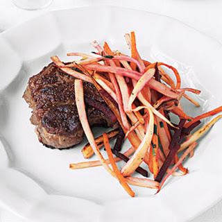 Steak with Root Vegetables