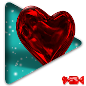 Crystal Hearts Valentine LWP