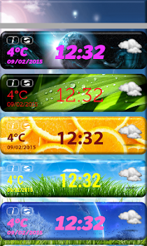HD Clock Weather Widget