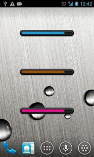 Battery bar uccw skin - screenshot thumbnail