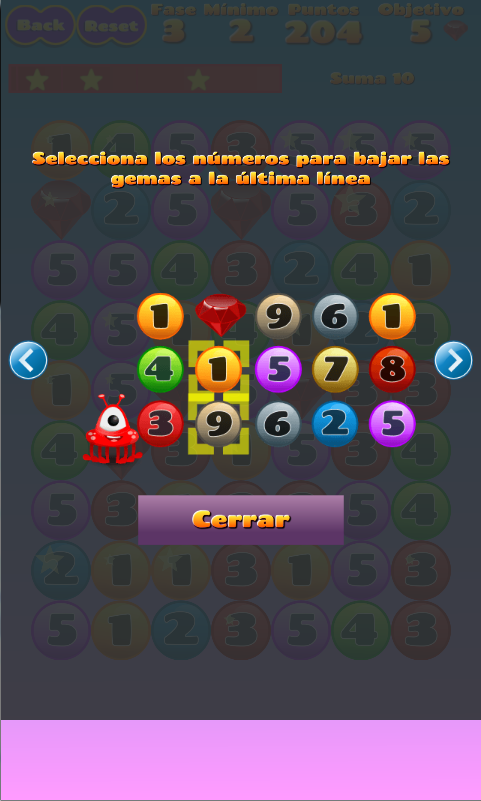 Vedoque 10 Candy Numbers- screenshot