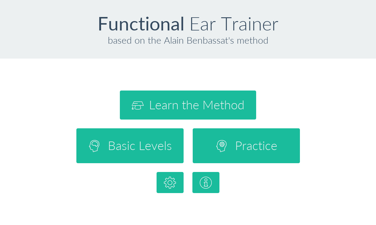 Functional Ear Trainer- screenshot