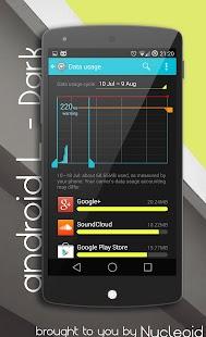 Android L Dark Theme - CM11 - screenshot thumbnail