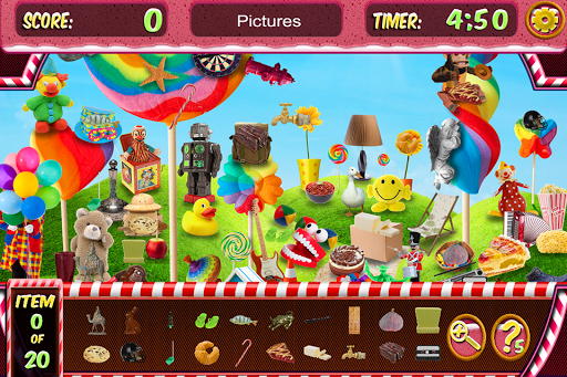 Hidden Objects World of Candy