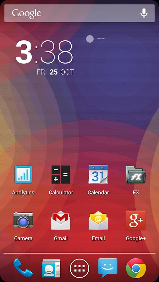 Nexus Ripples LWP - screenshot