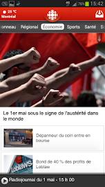 Radio-Canada Screenshot 1
