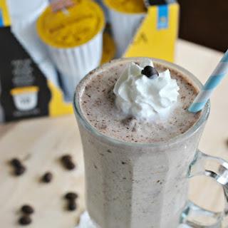 Nutella Coffee Milkshake.