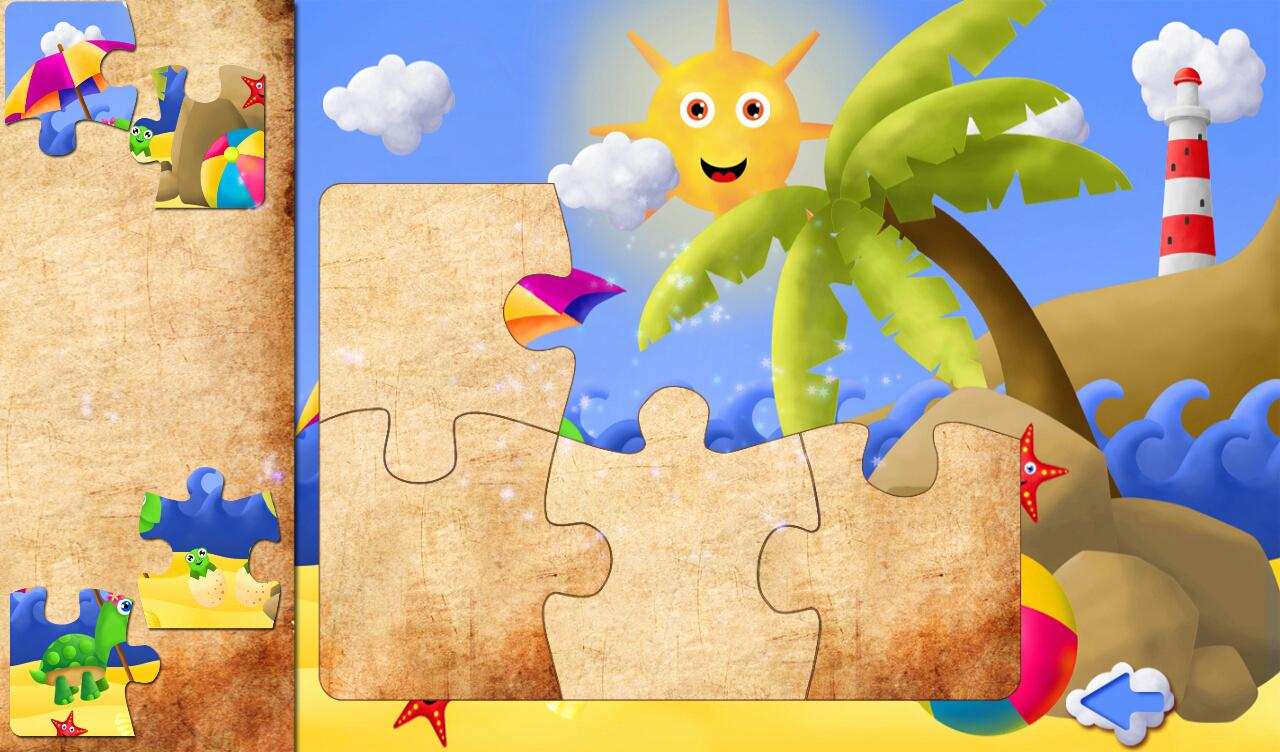 HD Puzzle Kids & Toddlers Lite - screenshot