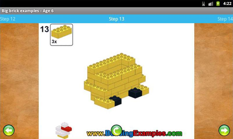 Big brick examples - Age 6- screenshot