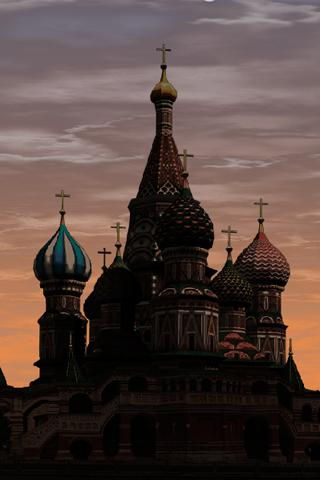 Moscow LWP ST. Basil`s Cathed.- screenshot