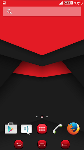 Xperien Theme Red Black