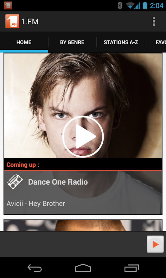 1.FM Online Radio Official app - screenshot