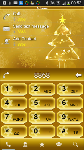 RocketDial Theme Christmas 5