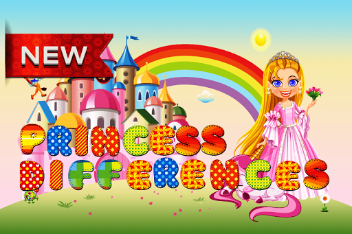 Princess Differences Game