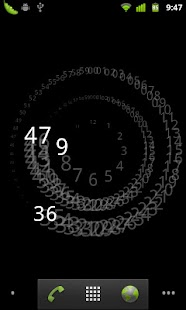 Analogy Clock Live Wallpaper - screenshot thumbnail