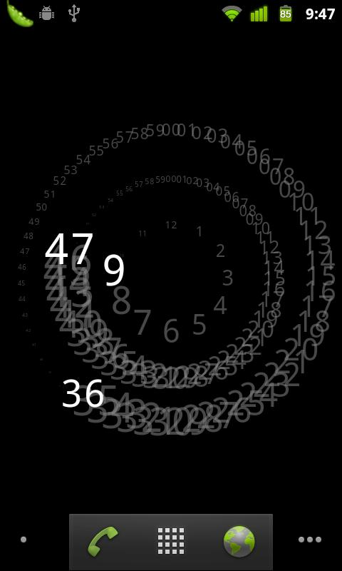 Analogy Clock Live Wallpaper - screenshot