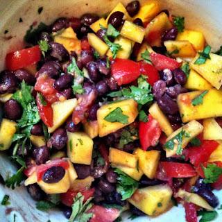 Mango and Black Bean Salsa