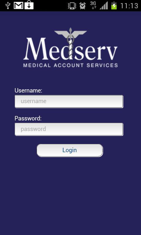 Medserv UK- screenshot
