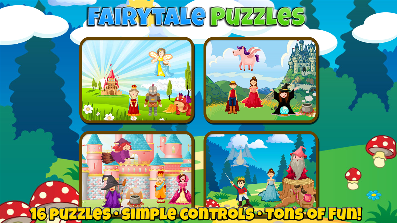 Fairytale Puzzles: Fun For a Princess or Prince- screenshot