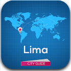 Lima Tourist Guide Map Hotels icon