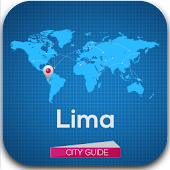 Lima Tourist Guide Map Hotels