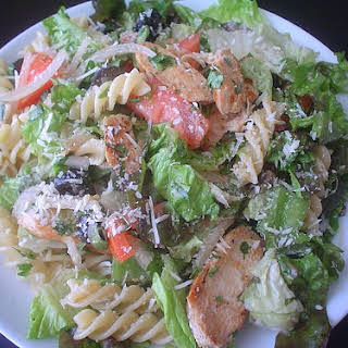 Grilled Chicken Pasta Salad.