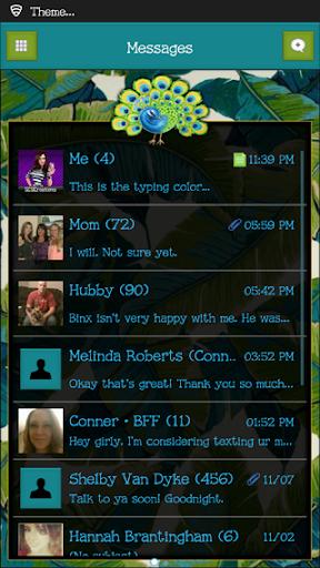 GO SMS THEME - SCS344