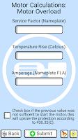 Screenshot of Electrical Motor Helper