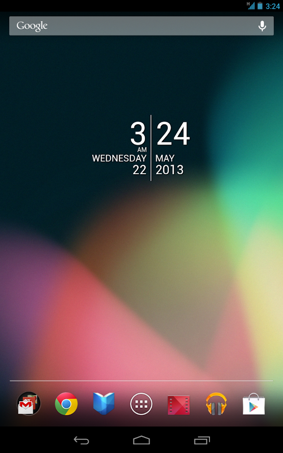 SDS2 Clock Widget - screenshot