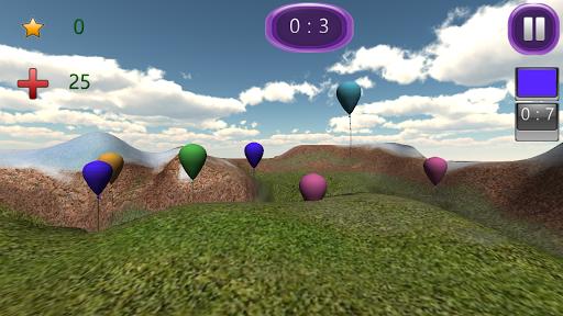 Balloon Color Burst 3D