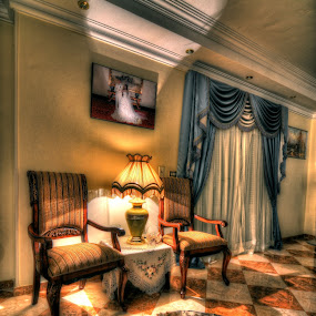 Home Sweet Home by Hany Todros - Buildings & Architecture Other Interior ( home, interior, hdr, cairo, merge, wide, hanytodros, egypt )