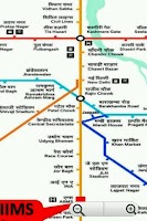 Screenshot of DMRC + Rapid Metro