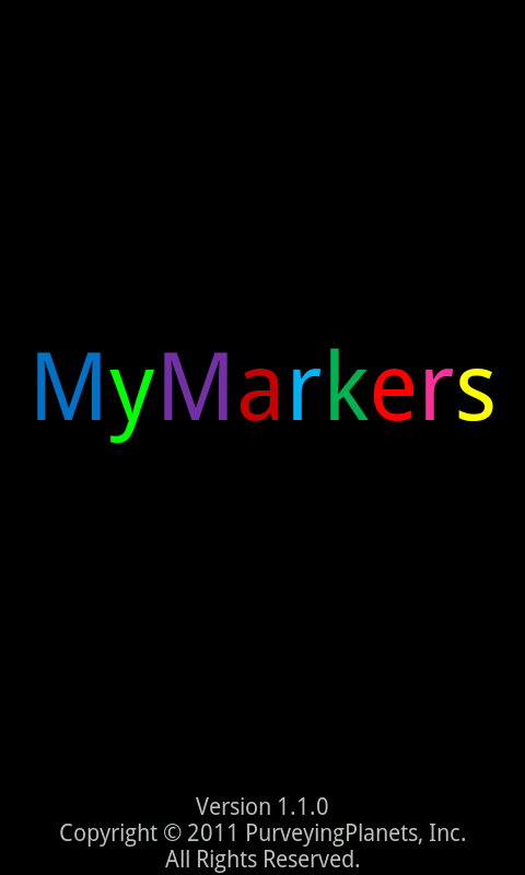MyMarkers- screenshot