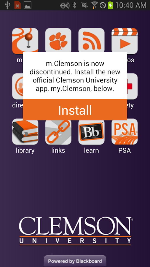 m.Clemson - screenshot