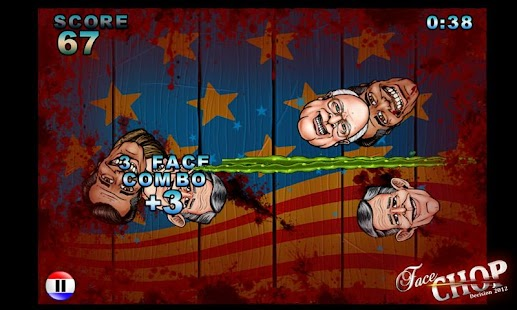 Face Chop: Decision 2012 Free! - screenshot thumbnail