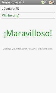 Polígloto. Inglés. Lección 1- screenshot thumbnail