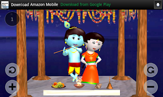 Screenshot of Shri Krishna