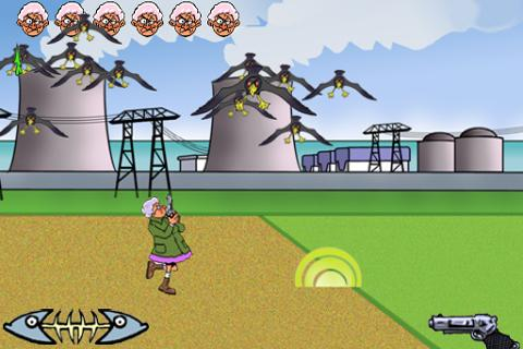 Polete Invaders- screenshot